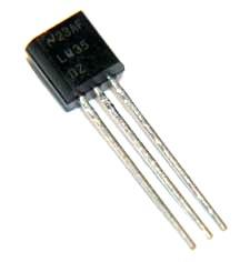 دیتاشیت سنسور حرارت lm35