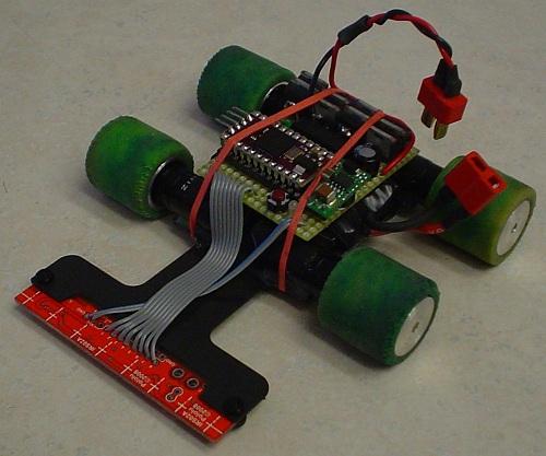 آموزش ساخت ربات مسیر یاب