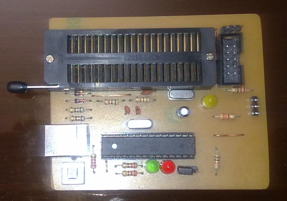 ساختن پروگرامر USBasp (آپدیت 20 آذر 93)