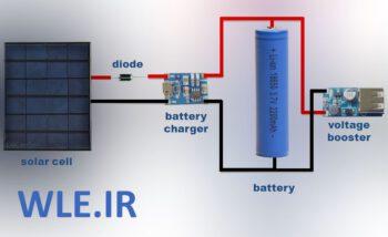 دانلود مقاله شارژ باطری سلول خورشیدی