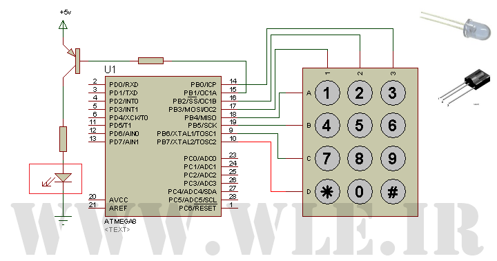 پروژه ریموت کنترل 12 کاناله