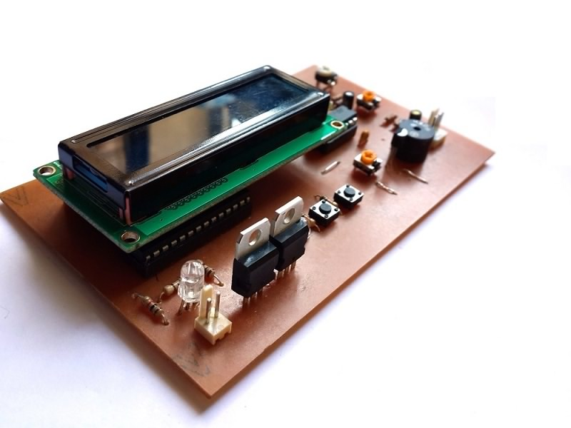 پروژه شمارش ضربان قلب با AVR