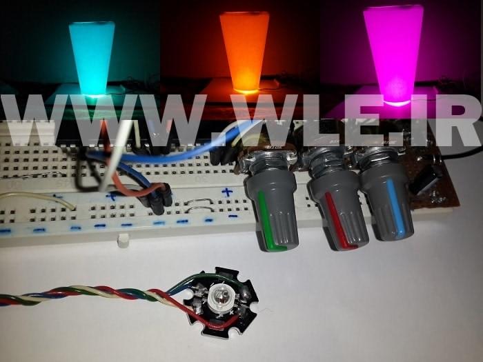 POWER LED RGB