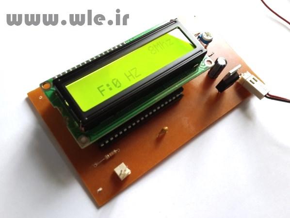 فرکانس متر دقیق با AVR