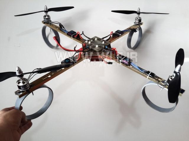 سوار کردن قطعات ربات پرنده روی فریم (جلسه 7 کوادکوپتر)