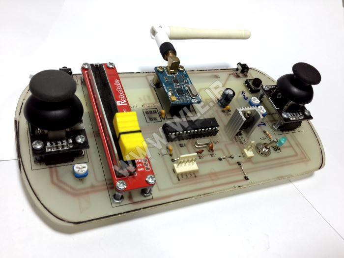 آموزش ساخت رادیو کنترل 8 کاناله کوادروتور
