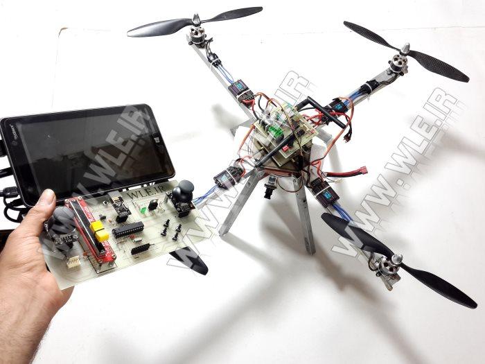 آموزش تصویر برداری هوایی با کوادروتو (جلسه 15 کواد)