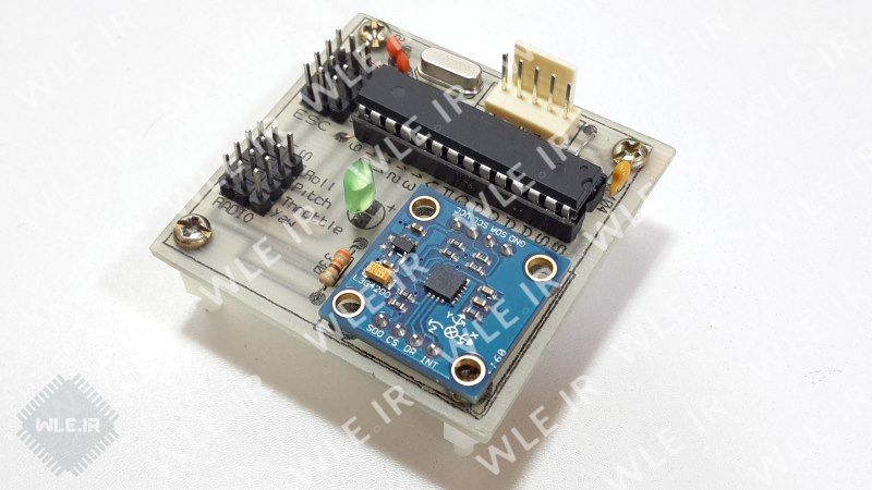 آموزش ساخت فلایت کنترل WLE