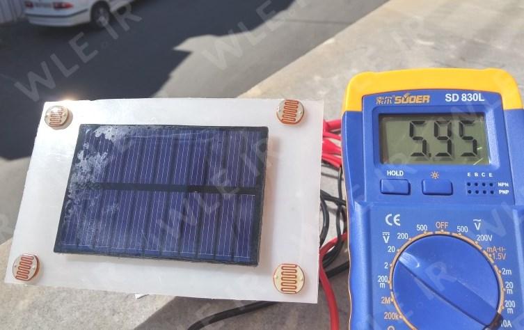 آموزش کامل ساخت دنبال کننده خورشیدی دو محوره_2