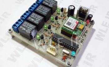 کنترل وسایل خانگی با SMS و ماژول SIM800L