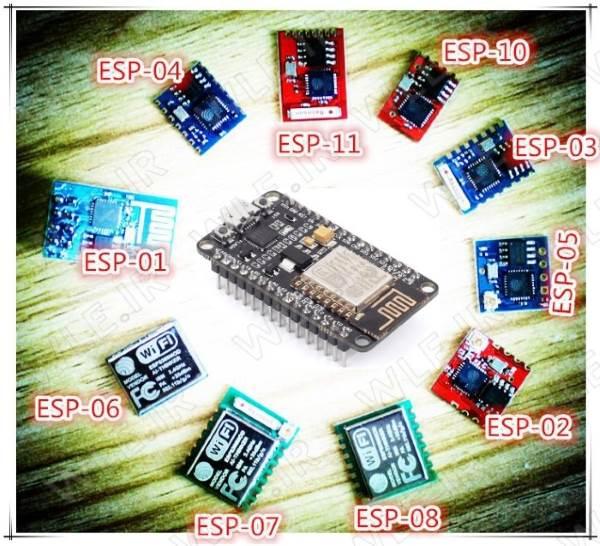 راهنمای خرید ماژول ESP8266