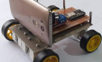 ساخت ربات دوربین دار کنترل شونده از طریق اینترنت