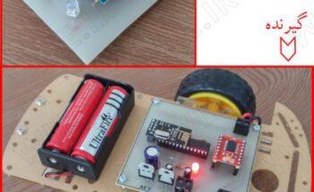 آموزش ساخت رادیو کنترل ربات توسط حرکات دست