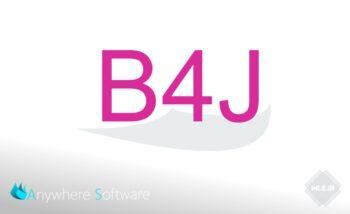 دانلود B4J 8.30 + کتابخانه ها + فیلم آموزشی نصب