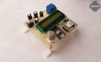 مدار تشخیص نشت گاز هوشمند توسط STM32 و GSM