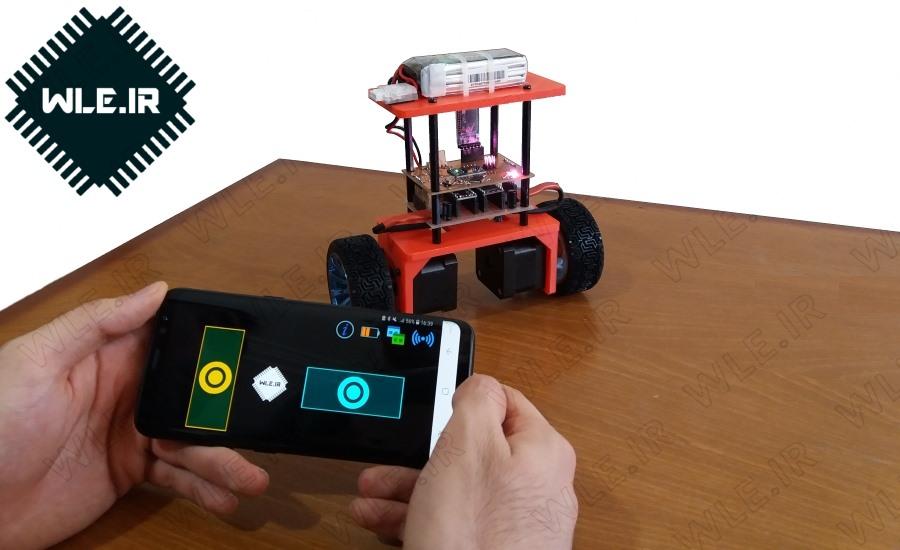 ساخت ربات تعادلی دو چرخ