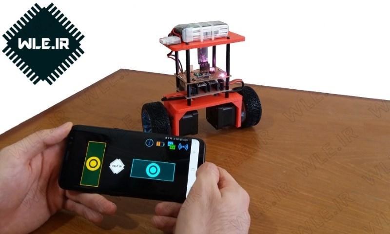 طراحی و ساخت ربات تعادلی دو چرخ