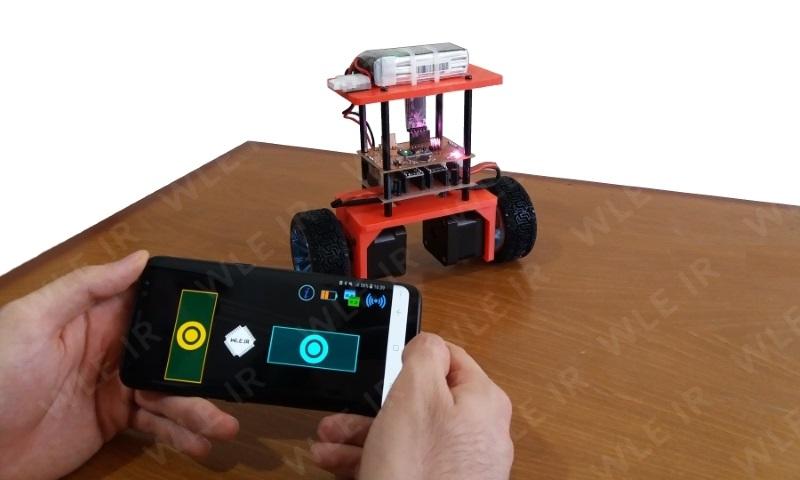 پکیج آموزشی ساخت ربات تعادلی دو چرخ