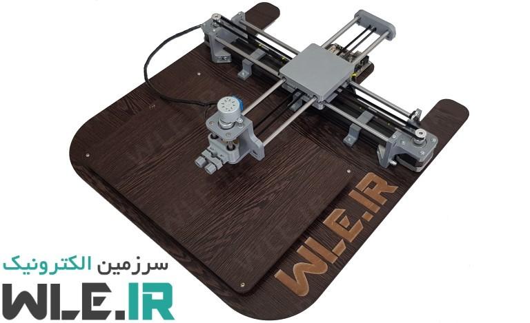 ربات CNC نویسنده و نقاش